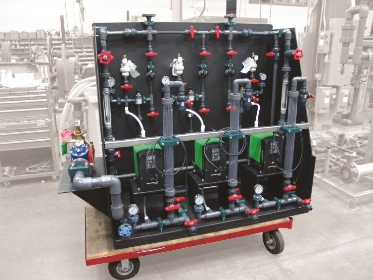 Chemical Metering Skid System