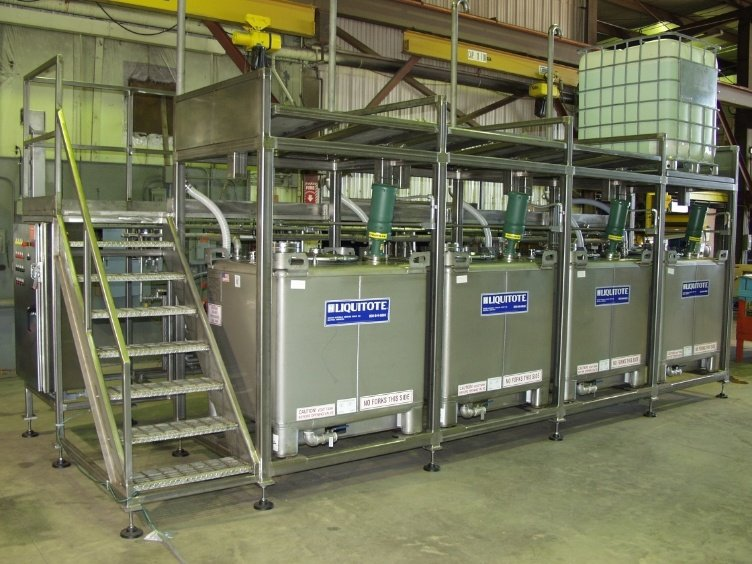 Fluid Transfer Skid System
