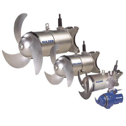 Sulzer-ABS RW Submersible Mixers