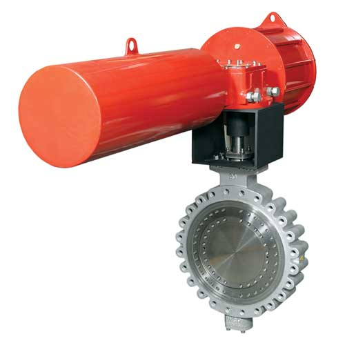 ABZ Valve Triple Offset High Performance Butterfly Valve