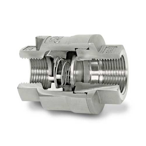 DFT SCV® Threaded In-Line Check Valves