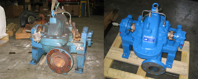 Split Case Pump Repair
