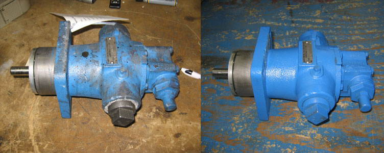 Authorized Service Center for OEM Pump Rebuild & Rotating