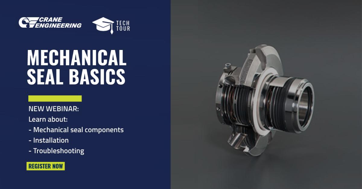 Mechanical Seal Basics Tech Tour